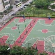 重庆硅PU网球场图片