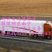 东莞到合浦物流货运包车图片