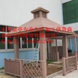 供应青岛平度双层木塑凉亭生产加工