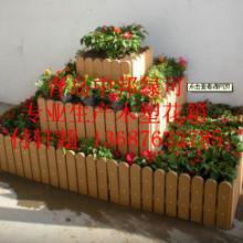 供应青岛加工木塑花箱生产厂家