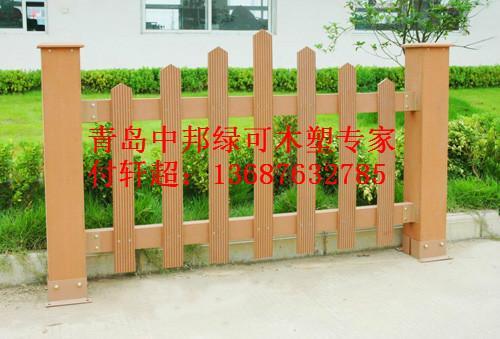 供应青岛哪家做木塑护栏