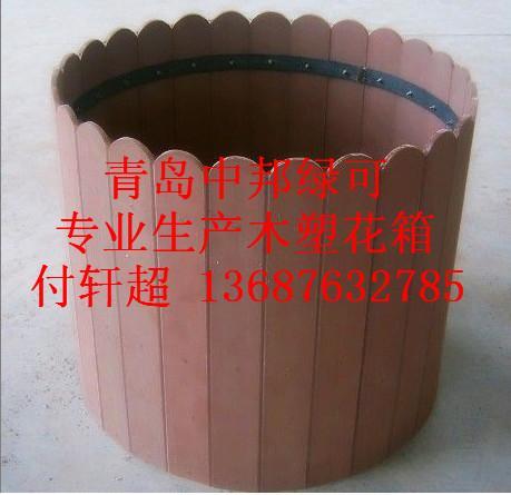 供应青岛城阳区木塑花箱价格单
