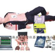 电脑高级心肺复苏除颤仪创伤模拟人图片