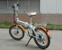 供应锂电池电动车自行车20寸禧马诺