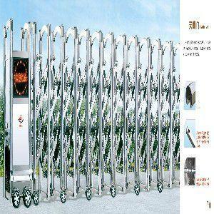 供应电动伸缩门厂家价格合理图片