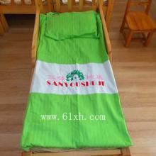供应纯棉缎条床上用品