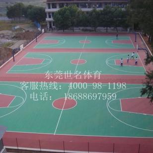 广州球场彩色地板图片