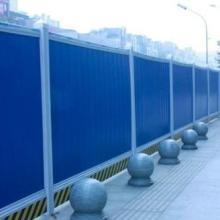 屯昌工地活动围墙 海南PVC临时围挡 海口围挡厂家图片