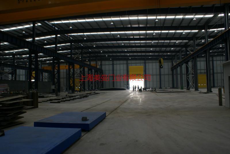 供应台州工业滑升门厂家图片