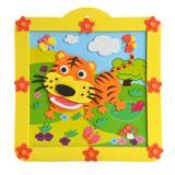 供应幼儿园早教益智拼图 3d立体贴画 儿童手工益智玩具