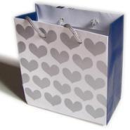 供应广告纸袋手挽袋 白卡纸广告纸袋设计印刷 饰品纸袋定制