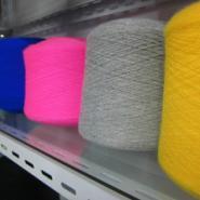 客户最满意的地毯纱膨体晴纶色筒纱图片