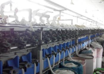 批量5支到12支棉晴气流纺纱图片