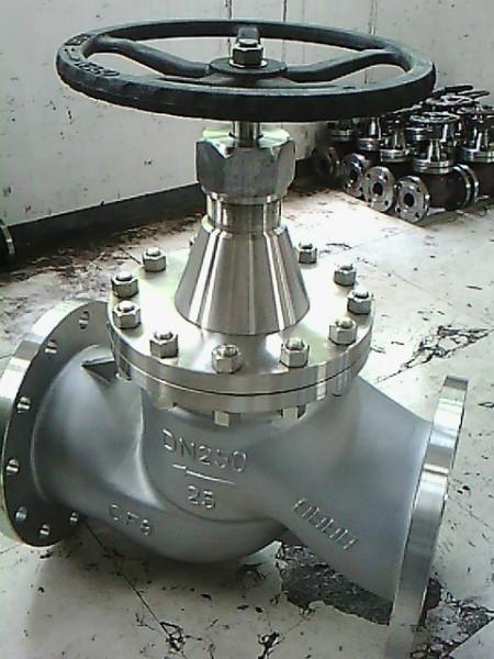供应河南氨用不锈钢截止阀厂家,湖高氨用不锈钢截止阀jy41n-40p价格图片