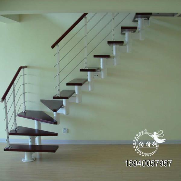 家用室内阁楼伸缩楼梯图片图片