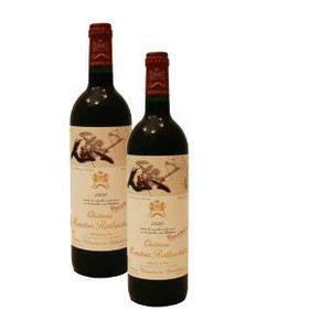 木桐红葡萄酒图片