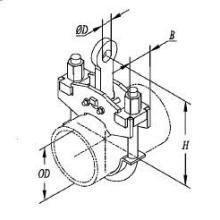 供应C形螺杆管夹103_C形螺杆管夹生产厂家_C形螺杆管夹供货商_规批发