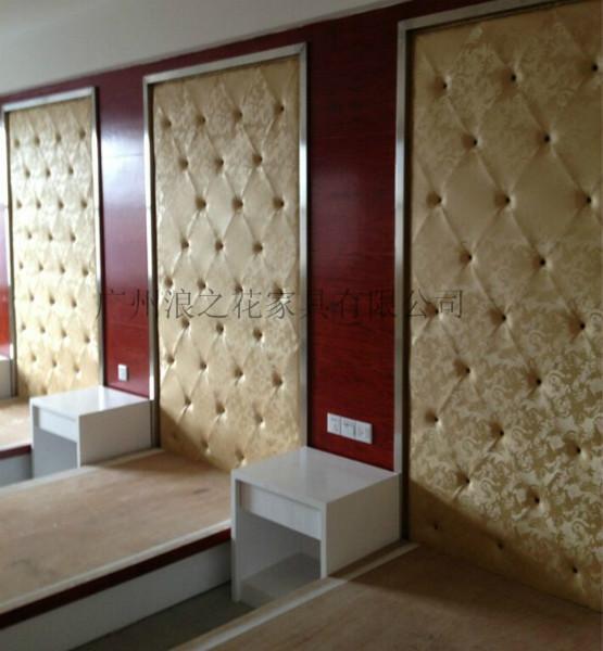 供应从化市酒店宾馆软硬包背景墙定做,厂家订做KTV会议室隔音软包