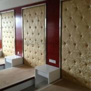 从化市酒店宾馆软硬包背景墙定做图片