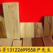 江西柳桉木防腐木加工厂图片