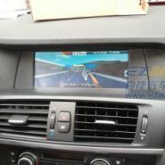 宝马520li加装雅音大屏导航图片