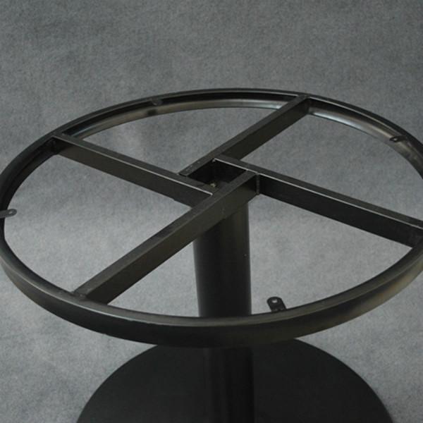 供应帆天家具五金配件铸铁圆形桌腿桌脚|餐台脚
