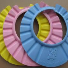 供应各种EVA优质出口洗头帽、宝宝沐浴帽、防水帽