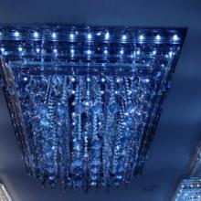 供应LED水晶客厅吸顶灯厂家 LED吸顶灯品牌 客厅灯卧室灯 图片