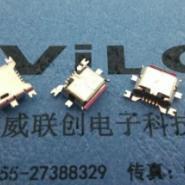 MICRO沉板USB图片
