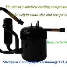 供应DC24V微小型车载冰箱制冷压缩机 直流变频制冷压缩机