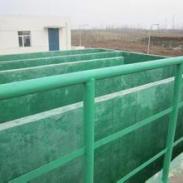 污水池玻璃钢防腐图片