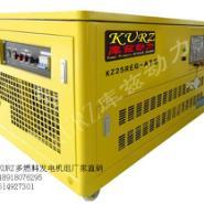 进口15kw静音水冷汽油发电机图片