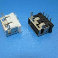 供应10.0USB-10.6USB短体插件母座AF DIP两脚短体
