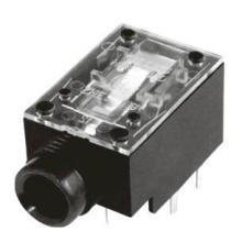 供应pj-610耳机插头/连接头插板6.35口径插座
