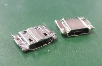 MICRO沉板USB母座图片/MICRO沉板USB母座样板图 (2)