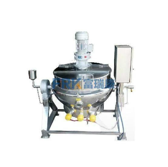 供应不锈钢可倾式电加热夹层锅