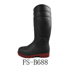 广州八哥鞋业耐酸碱雨靴图片