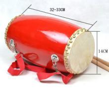 供应14cm胶质腰鼓  巩义市龙威铜鼓乐器厂