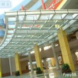 供应上海钢化玻璃棚生产
