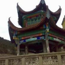 供应江西寺庙古建筑楼宇彩绘壁画墙画18070031091图片