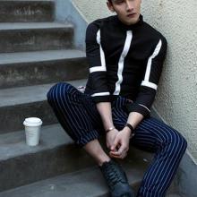供应春季新款男装韩版修身衬衣长袖衬衫批发