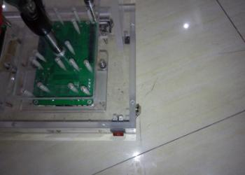 LED电源老化测试架夹具图片