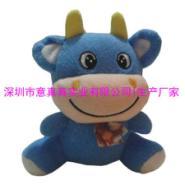 生产十二生肖毛绒玩具吉祥物牛图片
