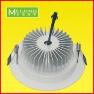 供应12W筒灯LED天花筒灯白色铝材散热高档天花灯五星级LED灯具