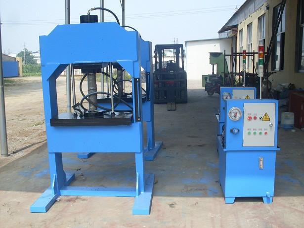 供应100t压力机 100吨龙门压力机 四柱压力机 单臂压力机 滕州压力机厂家
