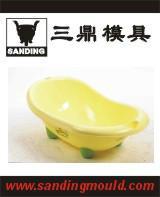 供应黄岩洗澡盘模具生产/塑料洗澡盘模具加工/洗澡盘模具设计图片