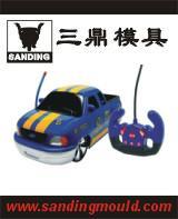 供应儿童塑料玩具车模具图片
