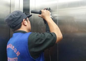 不锈钢电梯刮痕清除轿厢划痕清除图片