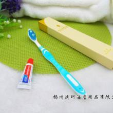 五星级酒店日用品 高档奢华酒店牙刷 牙刷配泰国进口高露洁牙膏