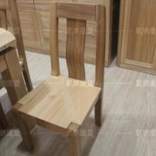 100俄罗斯进口榆木 无辅料 无贴面 纯实木餐椅